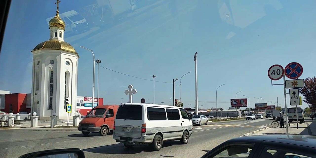 Славянск-на-Кубани. Обзор улиц от канала