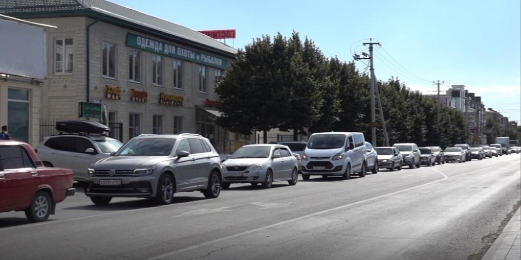 Пробки в Славянском районе