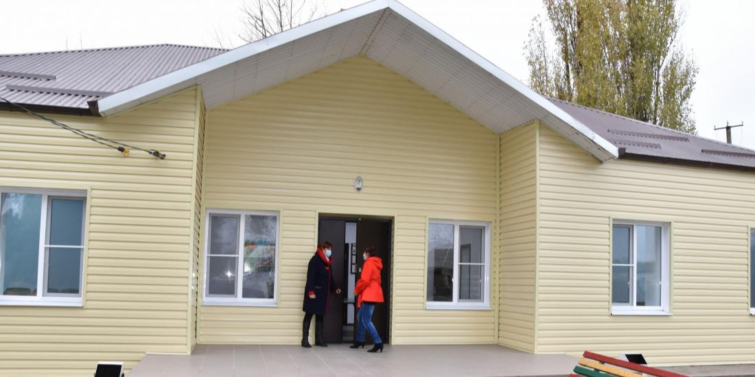 В хуторе Нещадимовском капитально отремонтирован сельский клуб